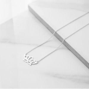 Lotus Necklace | 925 Silver